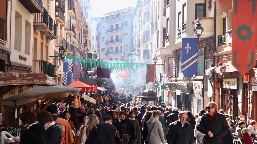 Las Bodas de Isabel de Segura reunieron a numeroso público en Teruel.