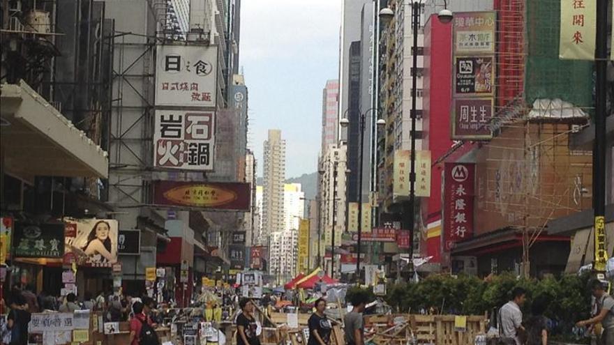 Nuevos enfrentamientos entre policía y manifestantes prodemocráticos