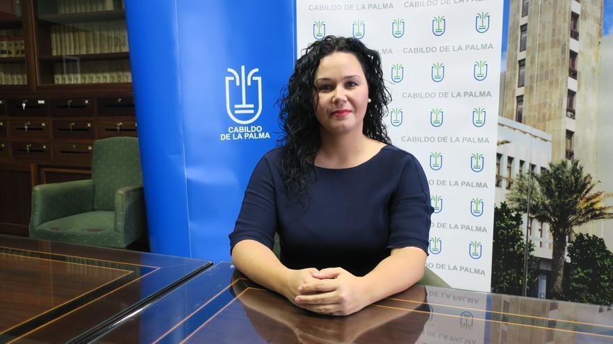 Tatiana Rodríguez es consejera de Empleo del Cabildo.