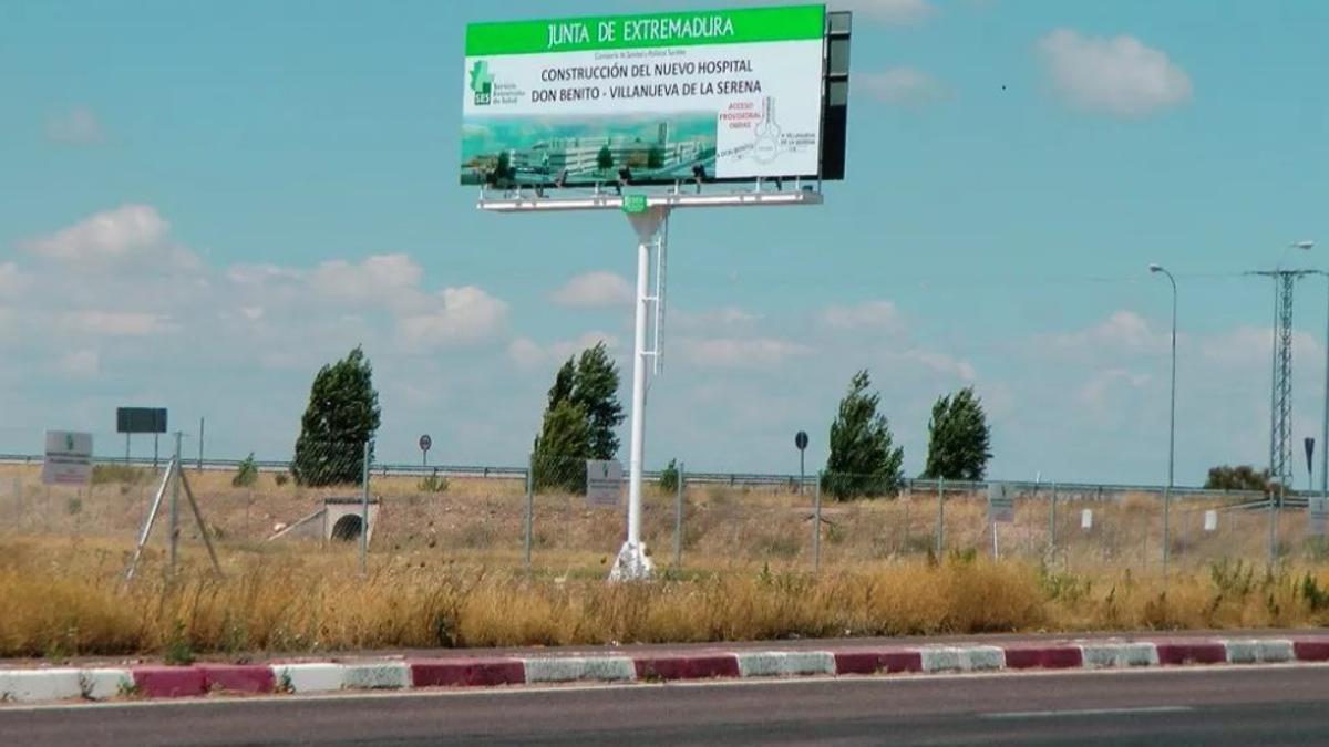 Zona donde se ubicará el nuevo hospital Don Benito-Villanueva