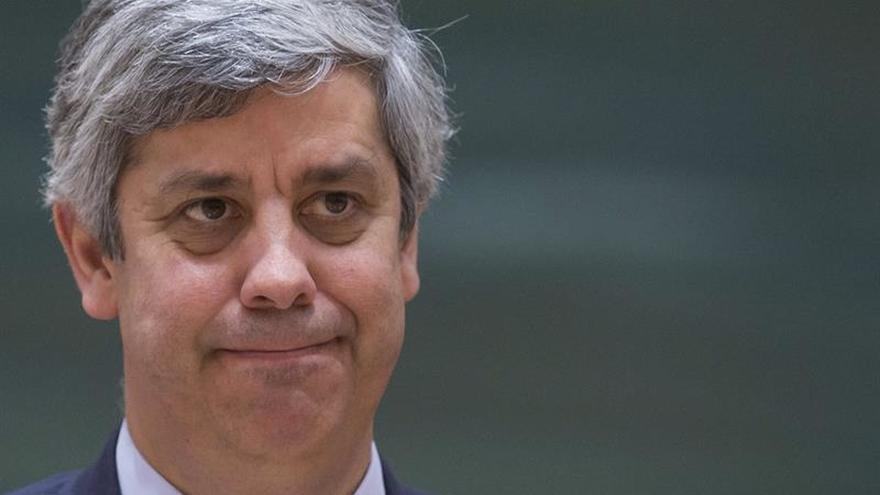 Mario Centeno, ministro de Finanzas luso, sondeado para presidir el Eurogrupo
