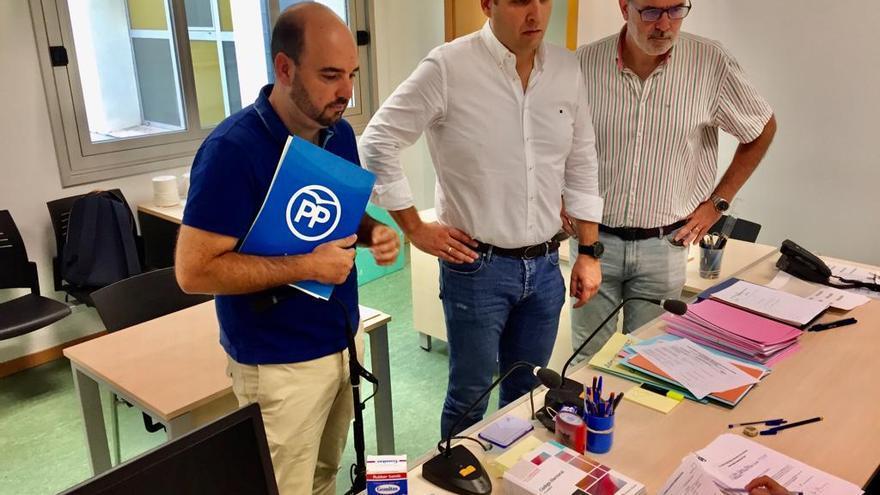 El PP presenta su candidatura en Alicante ante la Junta Electoral