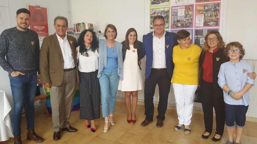 Inauguración de la nueva sede de la asociación Extremadura Entiende