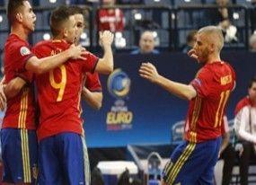 España, a la final del Europeo de fútbol sala con brillo en Mega