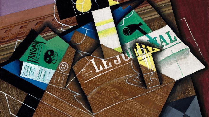El cubista Juan Gris protagoniza una exposición en EE.UU. casi 40 años después