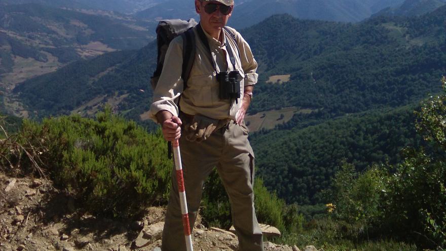 El arqueólogo e historiador miembro de la Real Academia de la Historia, Eduardo Peralta.