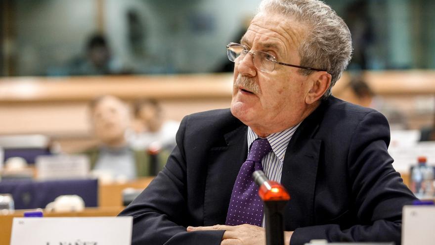 Luis Yáñez, en un reciente debate en Estrasburgo.