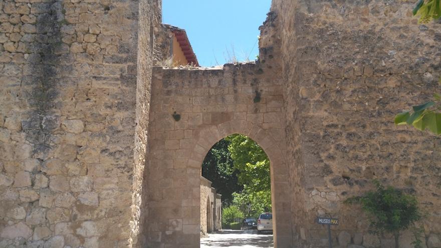 Recinto de la muralla medieval de Brihuega FOTO: Raquel Gamo
