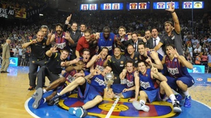 El Barcelona, Campeón De La Liga Endesa