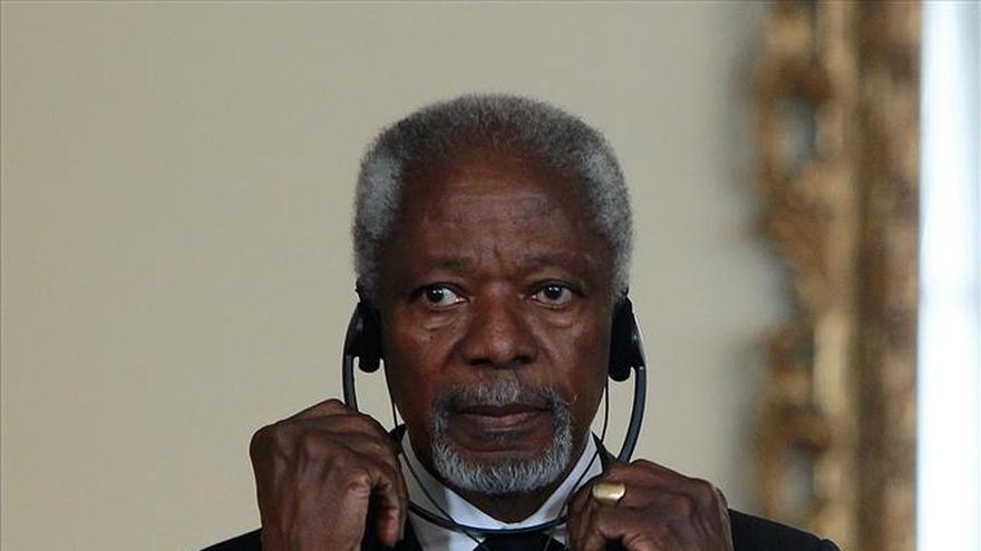 Annan pide a los venezolanos que usen una forma pacífica de resolver diferencias