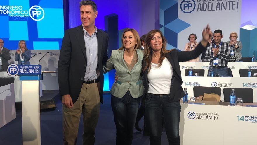 """Albiol promete hacer del PP referente de los que están """"hasta la coronilla"""" del soberanismo"""