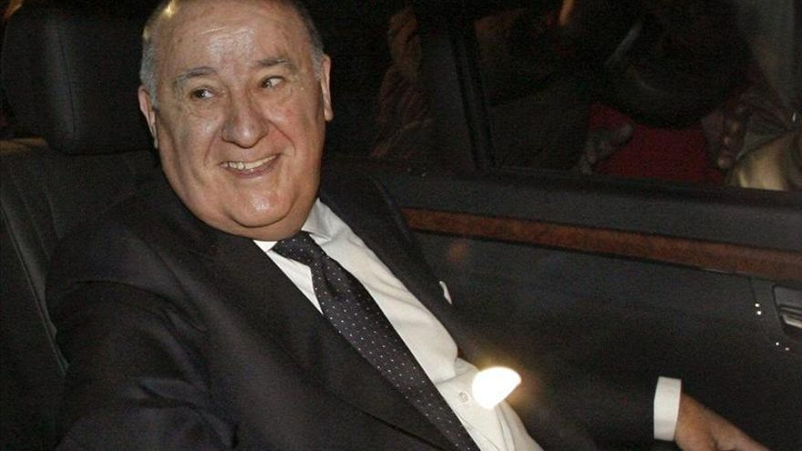 El empresario gallego Amancio Ortega, accionista de referencia de Inditex y tercera fortuna del mundo. / Foto:Efe