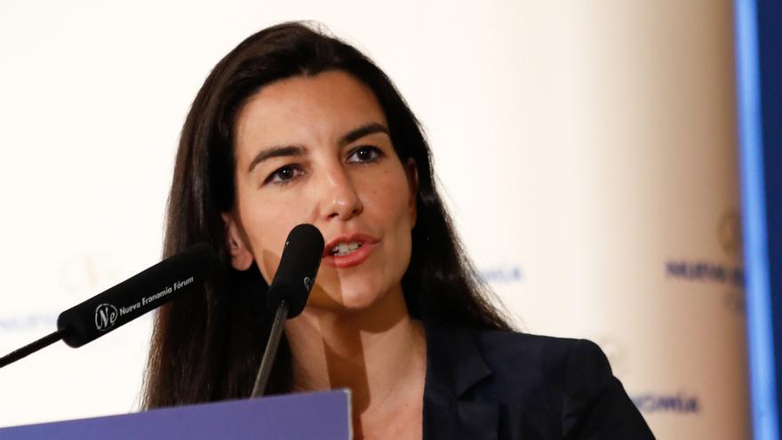 """Rocío Monasterio: """"Vox será más exigente en Madrid que en Andalucía, donde fuimos muy generosos"""""""