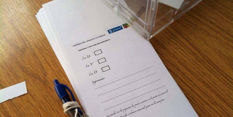 Papeleta de votación | SOMOS MALASAÑA