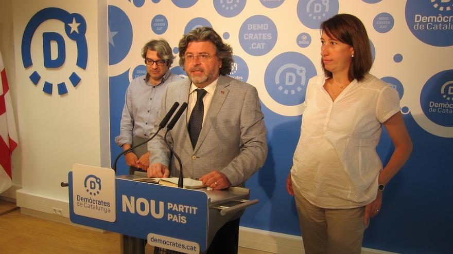 Demòcrates pide una reunión de los partidos soberanistas sobre el referéndum unilateral