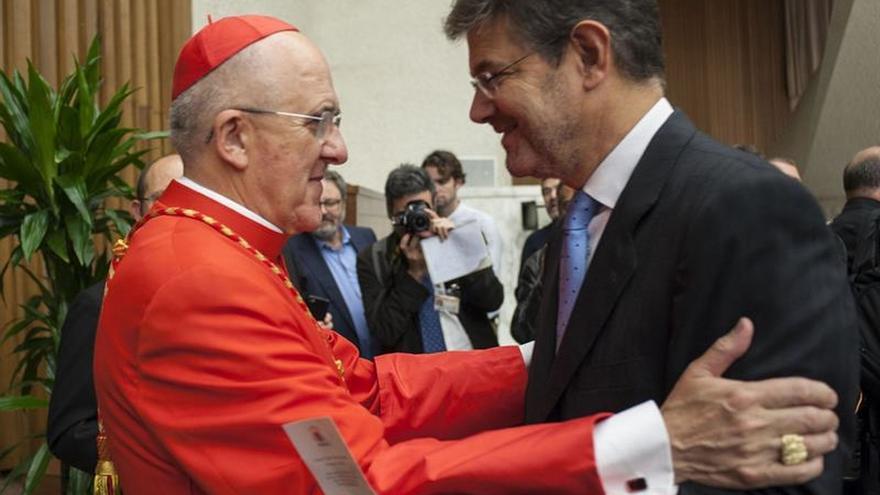 El cardenal español Carlos Osoro agradece el apoyo de los fieles en Vaticano