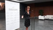 """La presidenta del Gobierno de Navarra dice que hay que """"acatar"""" y """"cumplir"""" la sentencia del 'procés'"""