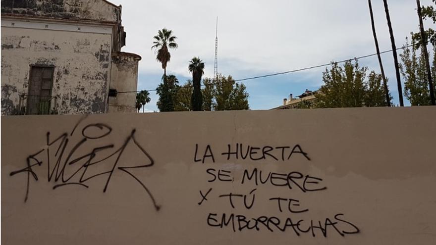 La Huerta de Murcia se muere y sigue teniendo los mismos culpables