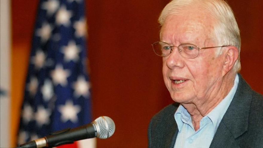 Jimmy Carter critica un ataque militar a Siria sin apoyo internacional