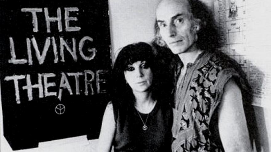 Judith Malina en el Living Theatre