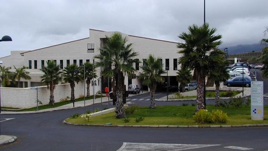 En la imagen, el Hospital General de La Palma.