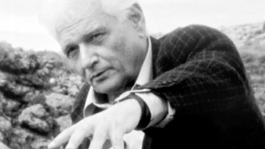 Jacques Derrida en la película de Safaa Fathy 'D´aulliers Derrida'