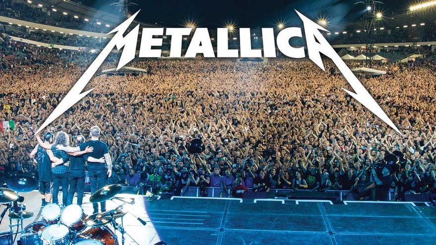 Concierto de la banda Metallica.