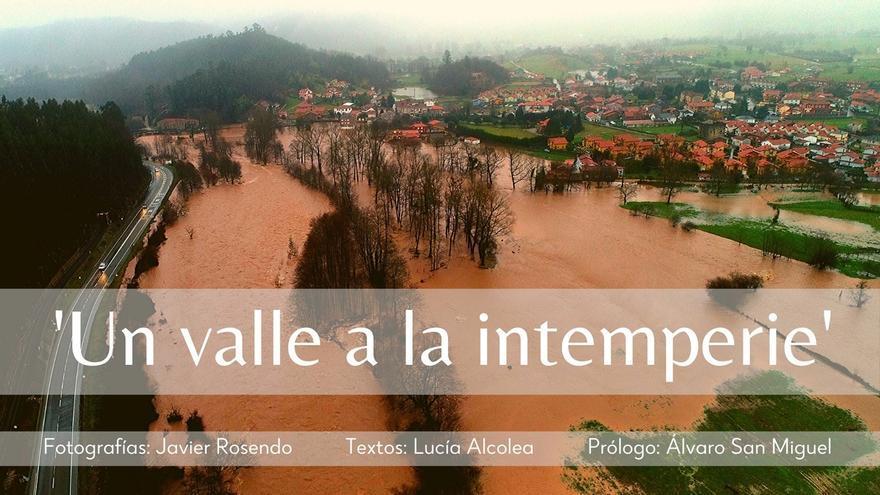 El fotoperiodista Javier Rosendo expone su perspectiva de las inundaciones en la cuenca del Saja