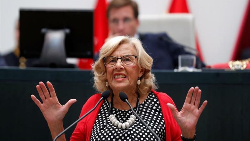 """Carmena entrega su renuncia como concejal en Madrid:""""Yo ya no soy aquí nadie"""""""