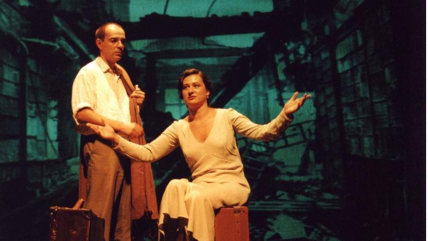 Escena de 'Miguel Hernández', de Teatro Meridional