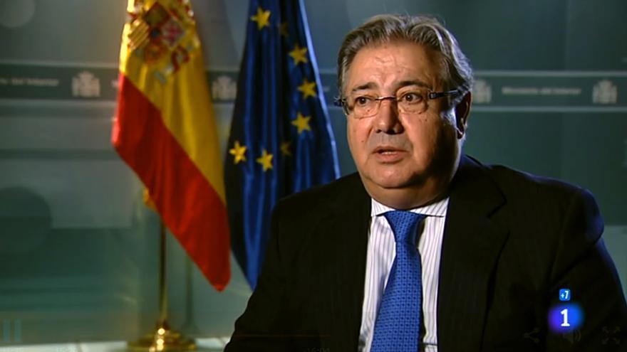 """El ministro del Interior, José Ignacio Zoido, en """"Informe Semanal"""""""