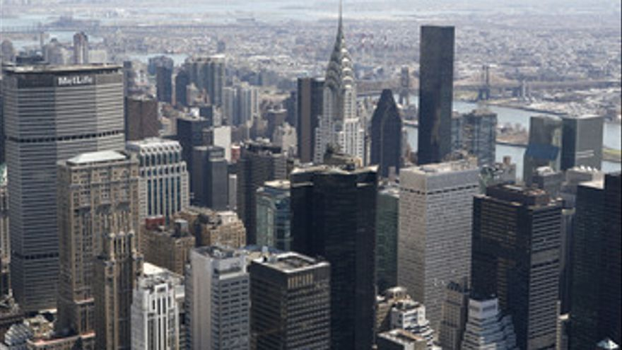 Vista general de Manhattan, Nueva York, Empire State. (EUROPA PRESS)