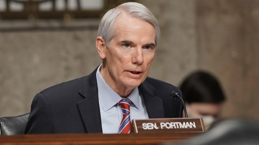 """Trump """"definitivamente es el líder del Partido Republicano"""", dice el senador Portman"""