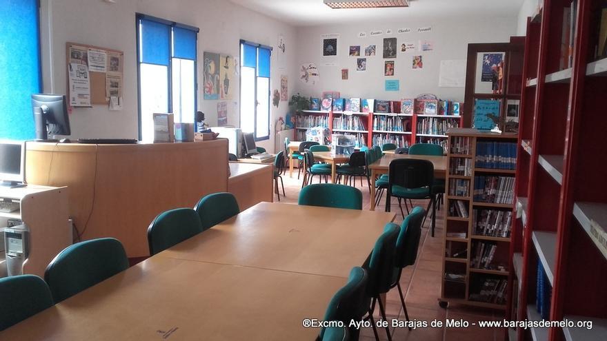 Biblioteca en Barajas de Melo