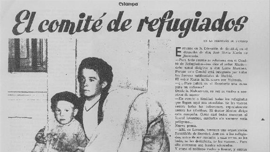 El Comité de Refugiados de la II República española (cedida por editorial Almud)