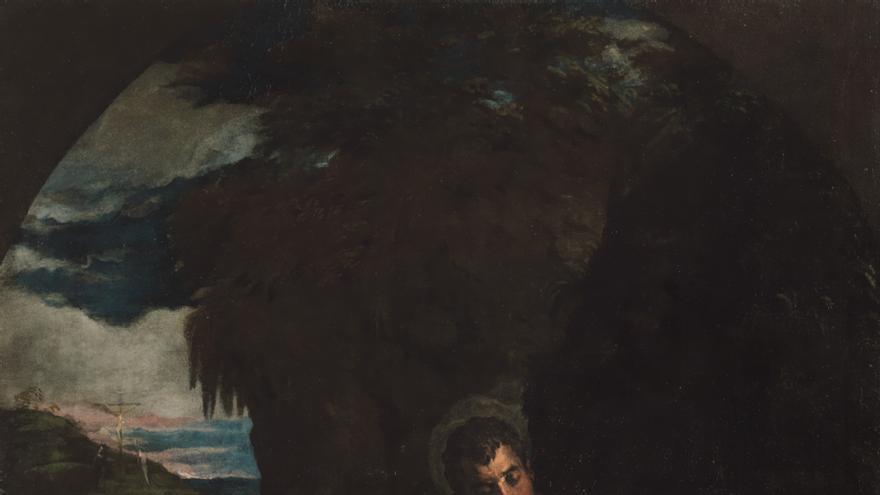 'San Martín y San Antonio abad' (Jacopo Bassano)