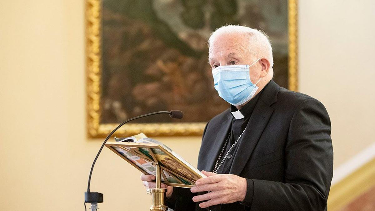 El arzobispo de València, Antonio Cañizares.