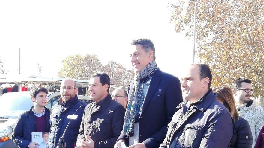 El líder del PP andaluz dice que Iceta no deja a Susana Díaz hacer campaña en Cataluña