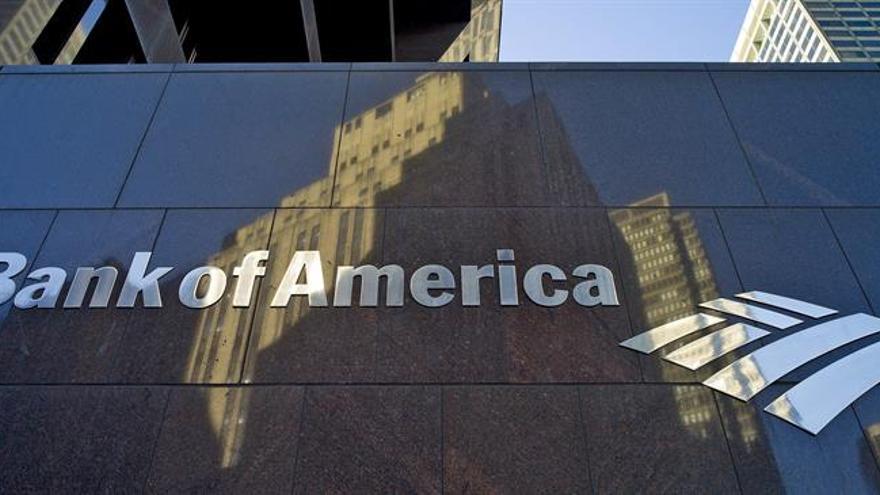 Los beneficios netos del Bank of America crecen un 40 % en el primer trimestre