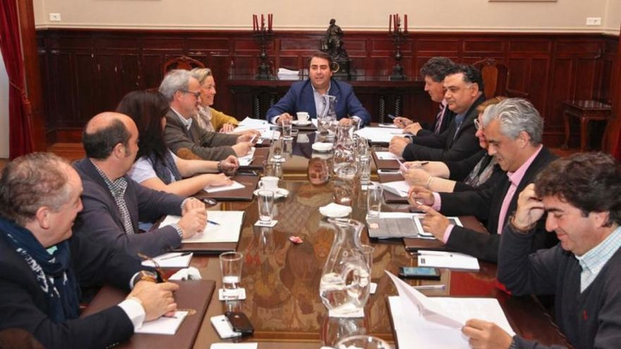Junta de gobierno del Ayuntamiento de A Coruña