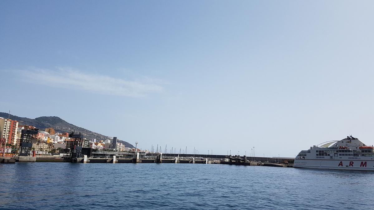 Cielo despejado en La Palma