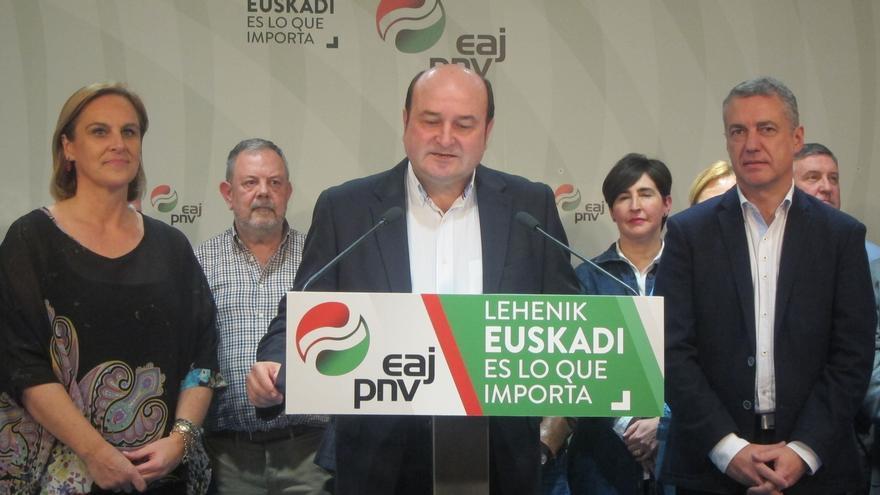 """PNV afirma que se consolida como """"la voz vasca en Madrid"""" y que sus seis escaños """"darán mucho juego"""""""