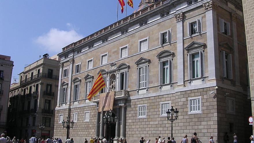 Imatge del Palau de la Generalitat foto: Marc Figueras Creative Commons