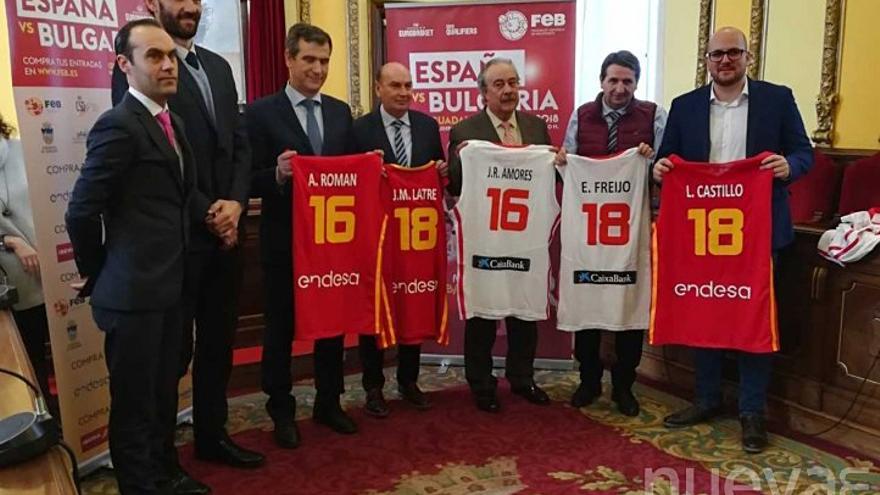 Presentación oficial del partido de la segunda Ventana FIBA de selecciones absolutas de baloncesto femenino entre España y Bulgaria.