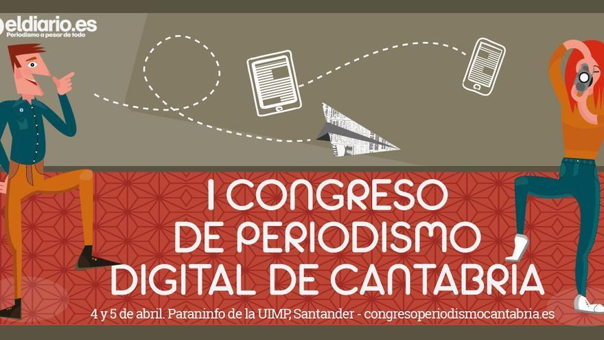 I Congreso de Periodismo Digital de Cantabria.