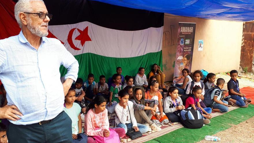 Niños saharauis, durante su visita a Canarias este verano dentro del proyecto 'Amanar'