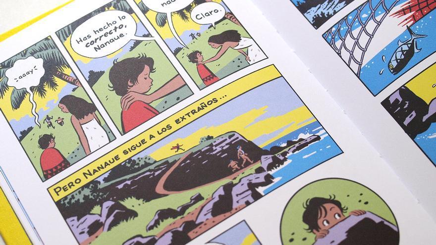 Viñetas de 'El rey escualo'