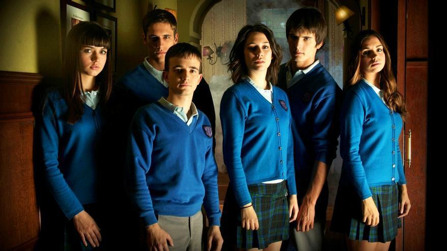 Los alumnos de 'El Internado'
