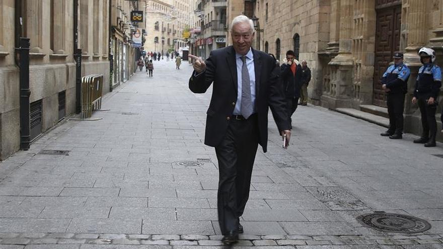 """Margallo compara el """"brexit"""" con Trump por su control de fronteras migratorias"""