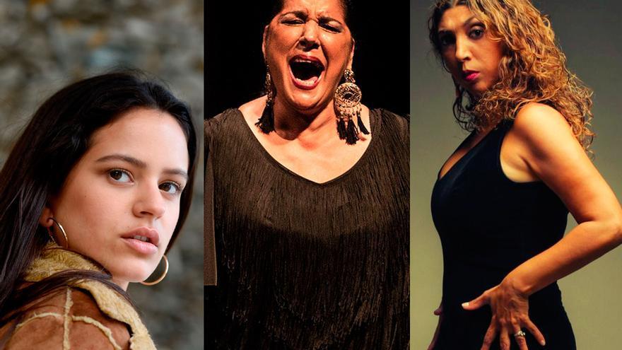 Rosalía, Remedios Amaya y Esperanza Fernández